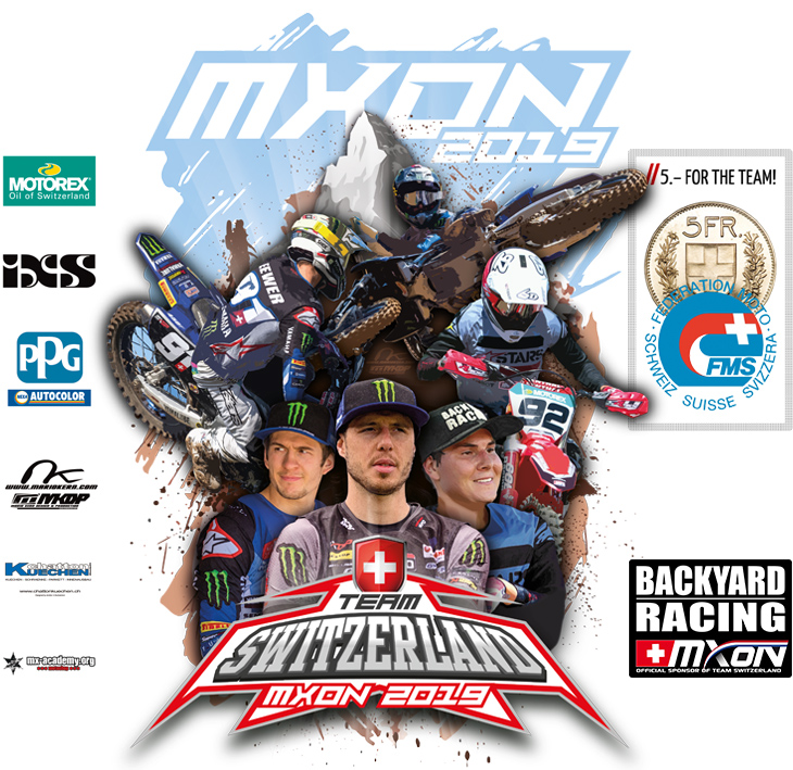 MXoN Team Switzerland - Backyard Racing official Fanshop
