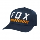Fox Cap 2018 CHECK YO SELF, dunkelblau, L/XL