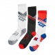 Fox Socken 2018 CORE CREW 3PACK, bunt, S/M