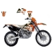 Blackbird Dekor Kit KTM EXC 01-02