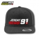 Snapback Cap JS91 by Jeremy Seewer, anthrazit