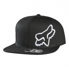 Fox Cap Poundback Fitted, schwarz