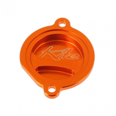 Kite Ölfilterdeckel, für SXF250 06-12, EXC-F250 07-13, SX450/525 00-06, SMR450/560 04-07, orange
