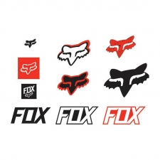 Fox Sticker 2018 TRACK PACK rot