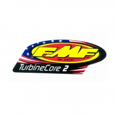 FMF TurbineCore2 Auspuff-Decal