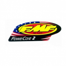 FMF PowerCore2 Auspuff-Decal