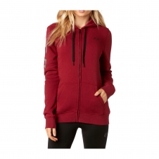 Fox Womens Zipper 2018 AFFIRMED, dunkelrot