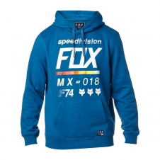 Fox Hoody 2018 DISTRICT 2, staubig-blau