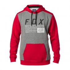Fox Hoody 2018 DISTRICT 3, dunkelrot