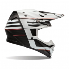 Bell Helm Moto-9 Carbon Flex, Matt Blocked schwarz