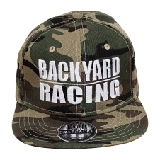 Backyard Racing Cap, Snapback camo