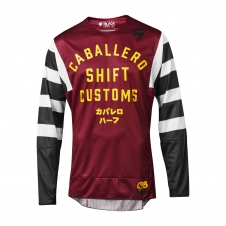 SHIFT 2019 Jersey 3LACK Caballero X Lab, rot