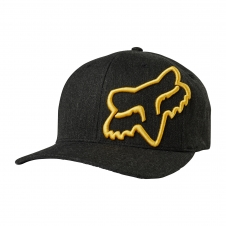 FOX 2019 Cap Clouded Flexfit, schwarz