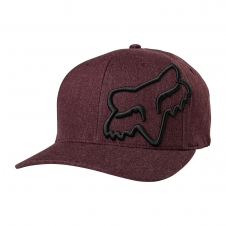 FOX 2019 Cap Clouded Flexfit, rot