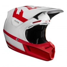 Fox Helm 2018 V3 Preest Indianapolis Limited, weiss-rot