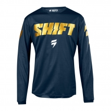 Shift Jersey 2018 WHIT3 Label navy/gold