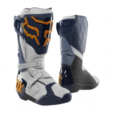 FOX 2019 Stiefel Comp R, blau/orange