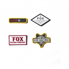 FOX 2019 Aufnäher Patch Pack, bunt