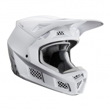 FOX 2020 Helm V3 Solid, weiss