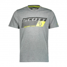 Scott Shirt DRI Factory Team dunkelgrau/gelb, L
