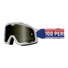 Goggle 100% Barstow Classic White, getönt