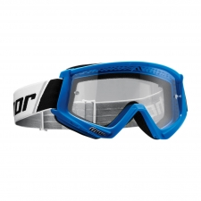 Thor Goggle Combat blau/weiss