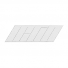 Icon Weste Patch, Hypersport, weiss