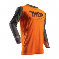 Thor Jersey Prime Fit orange/grau XL