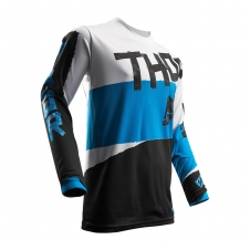 Thor Jersey Pulse Taper blau/weiss