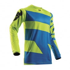 Thor Jersey 2018 PULSE LEVEL blau/lime, XXL