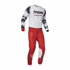 Thor 2021 Combo Pulse Air Rad, weiss/rot