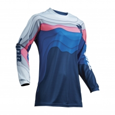 Thor 2019 Jersey Frauen Pulse Depth, blau/pink