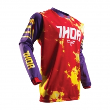 Thor Junior Jersey 2017 Pulse Tydy violett/fire