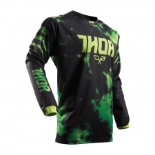 Thor Junior Jersey 2017 Pulse Tydy lime/schwarz