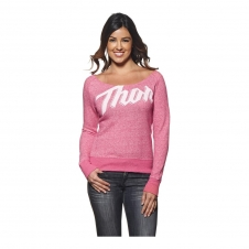 Thor Women Pullover SCRIPT pink