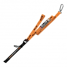 Matrix M1 Worx Phatty Spanngurte mit Haken und Karabiner 175cm, orange