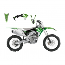 Blackbird Dekor Kit Dream3, für Kawasaki KXF 250 17-