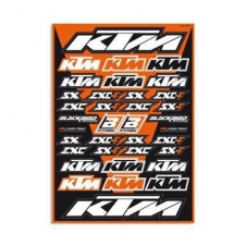 Blackbird KTM Stickerkit