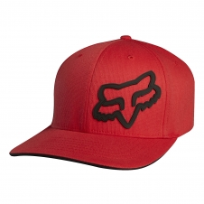 Fox Cap SIGNATURE Flexfit, rot, S/M