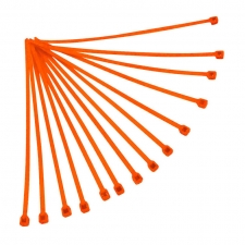Kabelbinder 100Stk, 180mm, orange