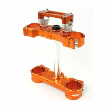 GECO 2D Gabelbrücke KTM ab 13 orange, 20mm offset