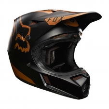 Fox Motocrosshelm 2017 V3 Copper Moth Limited Edition, S