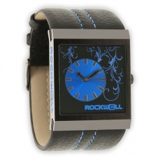 Rockwell The Mercedes, Black Leather/Blue