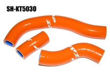 Silikon-Kühlerschlauch Kit KTM SXF450 orange