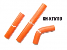 Silikon-Kühlerschlauch Kit KTM EXC 2T orange