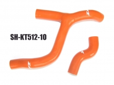 Silikon-Kühlerschlauch Kit KTM SXF350 orange