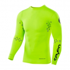 Seven 2019 Compression Jersey Zero Laser Cut flo yellow M