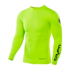 Seven 2019 Compression Jersey Zero flow yellow L