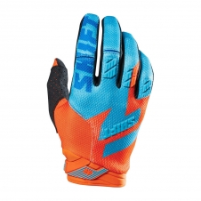 Shift Handschuhe FACTION orange-blau, M