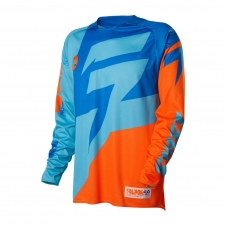 Shift Jersey FACTION orange-blau, L